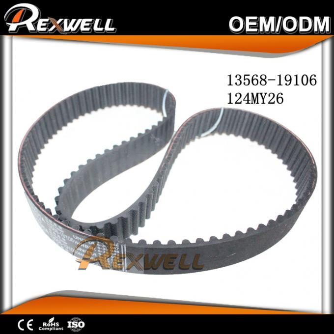 124 Teeth Automotive Engine Valve Timing Belt For TOYOTA